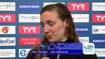 European Short Course Swimming Championships Copenhagen - Katinka HOSSZU Winner of Womens 200m Medley and 50m Backstroke