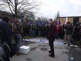 Aşırı Sağcı Liderlerin Konferansı Protesto Edildi