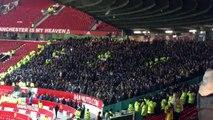 Les joueurs Manchester City se moque d'United en chantant  'park the bus' après la victoire sur Tottenham