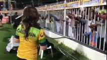 Shahid Afridi's Pakhtoons Team Shirt Being Distributed By Zareen Khan - YouTube