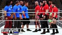 Team Raw Vs Team Smakdown 5 On 5 Tag Team Match full match - WWE SURVIVOR SERIES 17 december 2017