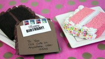 DIY Birthday Cake Postcard