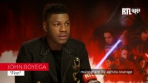 """VIDÉO - """"Finn est le personnage le plus humain de 'Star Wars 8'"""", pour John Boyega"""