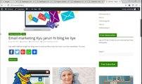 Wordpress ke blog mein Adsense Ki ads Kese Insert kare