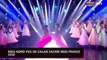 Miss France 2018 : Miss Nord-Pas-de-Calais, Maëva Coucke, remporte la couronne ! (vidéo)