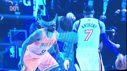 Knicks' Tribute to Carmelo Anthony