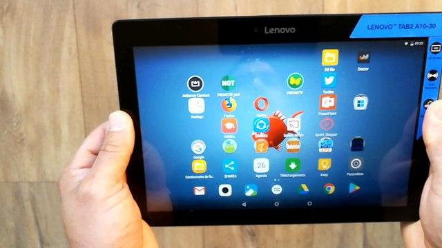 Comment faire une Copie Ecran sur une Tablette Android Lenovo