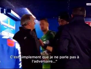 Grosse Altercation entre Thierry Laurey et Pascal Dupraz durant le match entre Strasbourg et Toulouse !