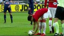 Alireza Jahanbakhsh penalty Goal HD - AZ Alkmaar 1 - 0 Ajax - 17.12.2017 (Full Replay)