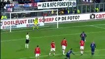 Lasse Schone Penalty Goal HD - AZ Alkmaar 1-2Ajax 17.12.2017