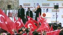 Erdoğan: 'Mertlerin dayandığı, namertlerin kaçtığı günlerden geçiyoruz' - KARAMAN