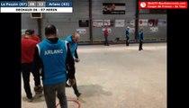 64ème de la Coupe de France 2017/2018 : Le Pouzin vs Arlanc - Triplette décisive