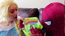 Frozen Elsa SUPER WUBBLE BUBBLE w Spiderman Joker Maleficent Spidergirl Fun Superhero in real | Superheroes | Spiderman | Superman | Frozen Elsa | Joker