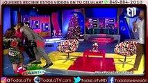 Robertico le gana a Alex Matos bailando salsa-Más Roberto-Video