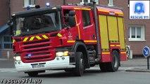 Sapeurs Pompiers Dunkerque  - FPT 1 + EMOD 4 + FPT 2 SDIS 59