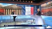 La cote de popularité d'Emmanuel Macron rebondit