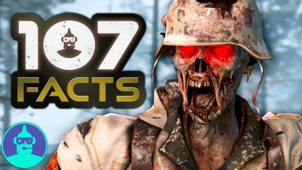 Call of Duty WW2 - New Zombie Campaign  (+107 Facts YOU Should KNOW) | The Leaderboard