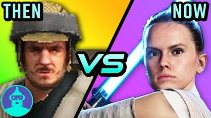 Star Wars Battlefront 2 - Then vs. Now (2005 vs. 2017)   The Leaderboard