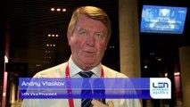 Andriy Vlaskov - LEN Vice-President - About European Short Course Swimming Championships Copenhagen 2017