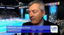 Fernando Carpena Perez - LEN Bureau Member - About European Short Course Swimming Championships Copenhagen 2017