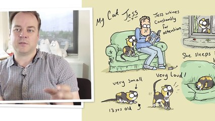 In or Out Why Are Cats So Indecisive! - Simon's Cat _ LOGIC-wmCJeEd3_4w