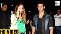 Hrithik Roshan & Sussanne Khan Together On A Dinner Date