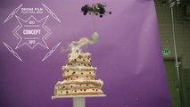 Telia - Drones + Cake by Lucas Zanotto - Best Concept - Drone Film Festival ANZ x SanDisk