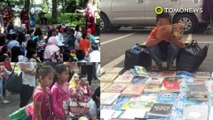 Inspiratif! Kisah bocah pemulung dan penjual tisu yang rajin membaca - TomoNews