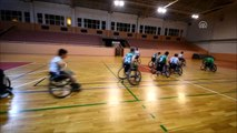 Engelli Gençleri Sporla Hayata Bağladı- Bedensel Engelli Nusret Sever, Balıkesir'in Gönen İlçesinde...