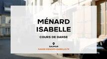 Cours de danse, danse de salon, danse contemporaine à Saumur, Ménard Isabelle (49)