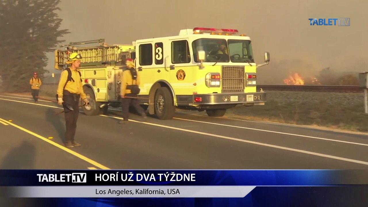 V Kalifornii bojovalo s plameňmi 8500 hasičov