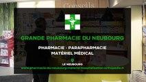 Grande Pharmacie du Neubourg, pharmacie, vente et location de matériel médical à Le Neubourg.