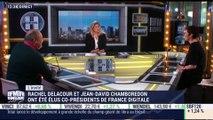 Rachel Delacour et Jean-David Chamboredon élus co-présidents de France Digitale - 18/12