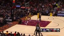 Lonzo Ball RUNS AWAY FROM LEBRON JAMES DUNK - LeBron James vs Lonzo Ball - Cavaliers vs Lakers