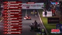 Deux pilotes s'arrêtent pour se battre en plein course de karting (Brésil)