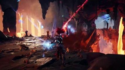 Lava Brute Battle de Darksiders 3