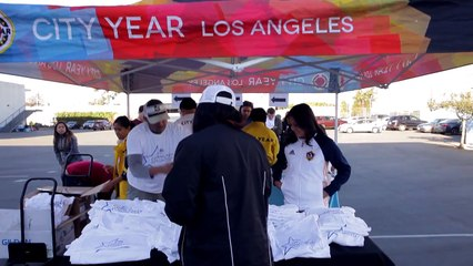 AEG and City Year Team Up to Improve Nevin Avenue Elementary in South Los Angeles