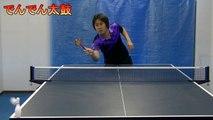 Un japonais joue au tennis de table avec toutes sortes d'objets