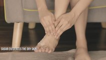 DIY Homemade Scrub for Dry Feet _ Winter Skin Care Routine for Dry Skin _ Glamrs Skin Care-d2WXThmoZc4