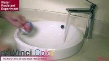 Da Vinci Color Water Resistant 3d printing