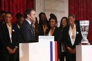 Discours du Président de la République, Emmanuel Macron, en l'honneur de l'équipe de France féminine de Handball, Championne du monde