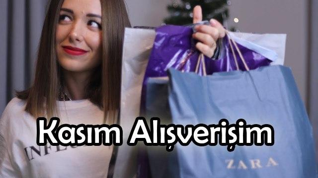 Alışveriş / Kasım 2017 Zara, Bershka, Mango, Rossman, Gratis, Eveshop
