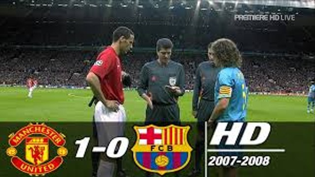 Manchester United vs Chelsea Champions League Final 2007-2008