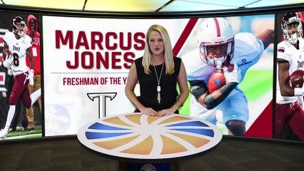 2017 Sun Belt Freshman of the Year: Marcus Jones - Troy