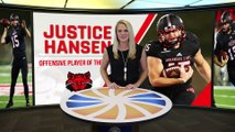 2017 Sun Belt Conference Offensive Player of the Year: Justice Hansen, Arkansas State