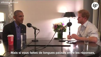 Quand le prince Harry interviewe Barack Obama