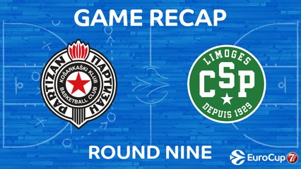 7DAYS EuroCup Highlights Regular Season, Round 9: Partizan 98-101 Limoges