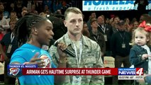 Airman Surprised With Trip Home for the Holidays