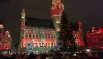 Henri PFR met le feu à la Grand Place
