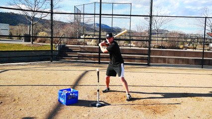 BEST BASEBALL HITTING DRILLS TO DO BY YOURSELF